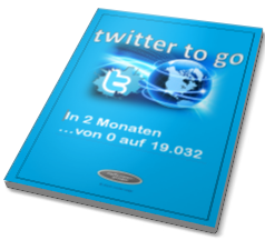 Titelseite twitter to go - german