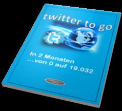 Titelseite twitter to go - german